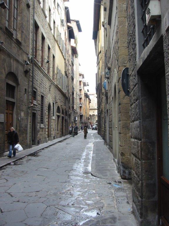 180119 フィレンツェの街路