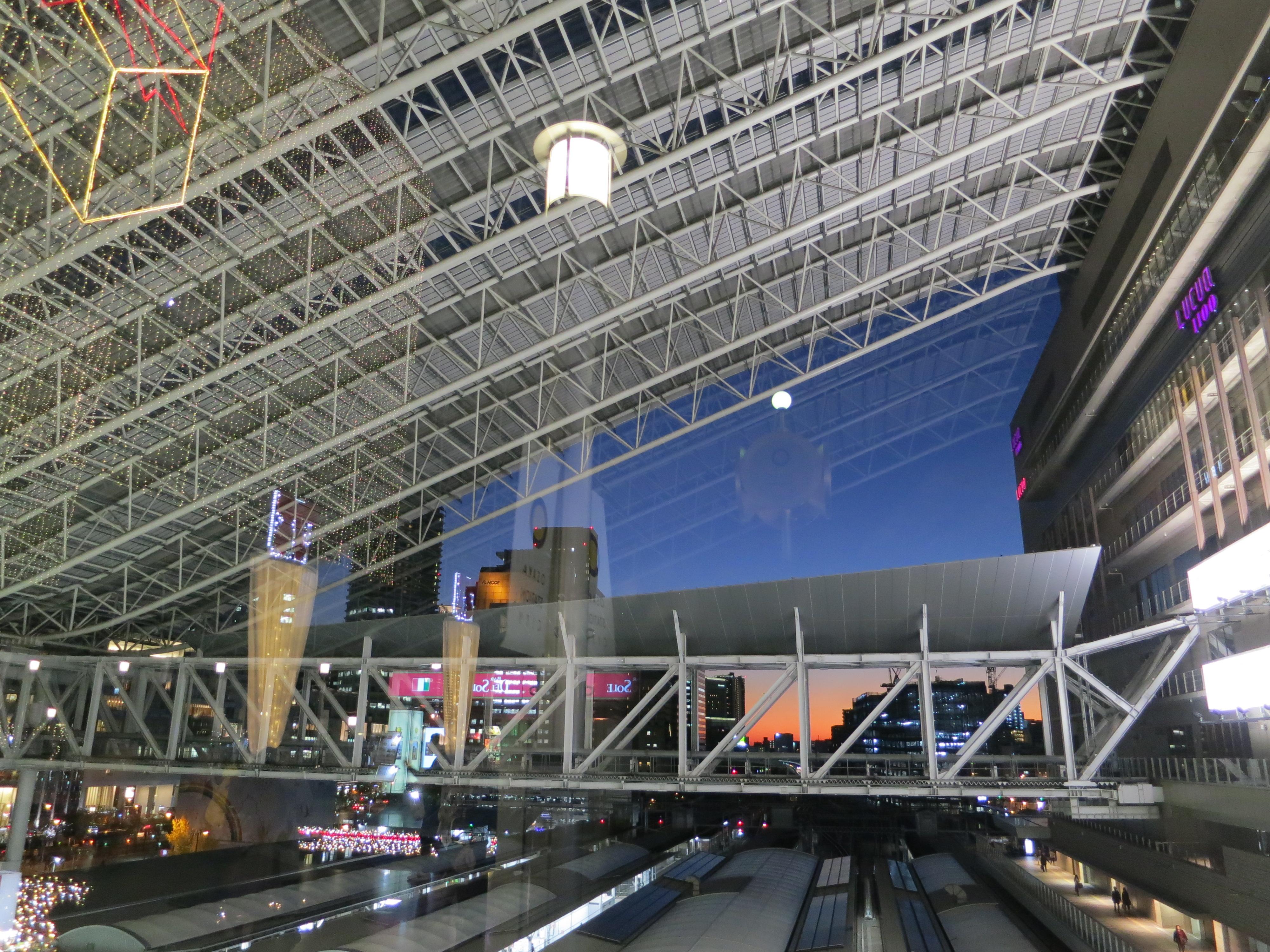 190125 JR大阪駅の大屋根