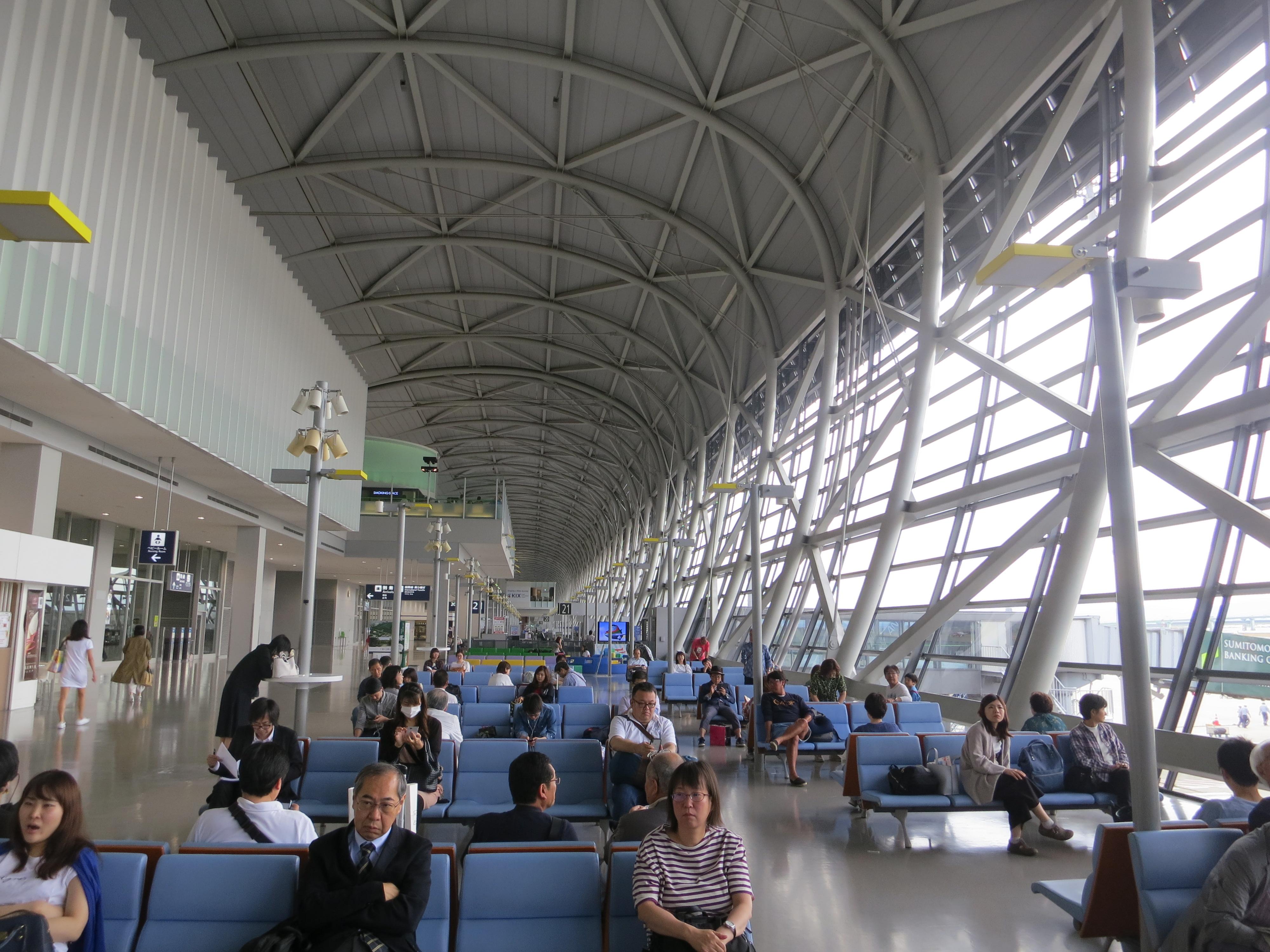 190619 関西国際空港 出発ロビー