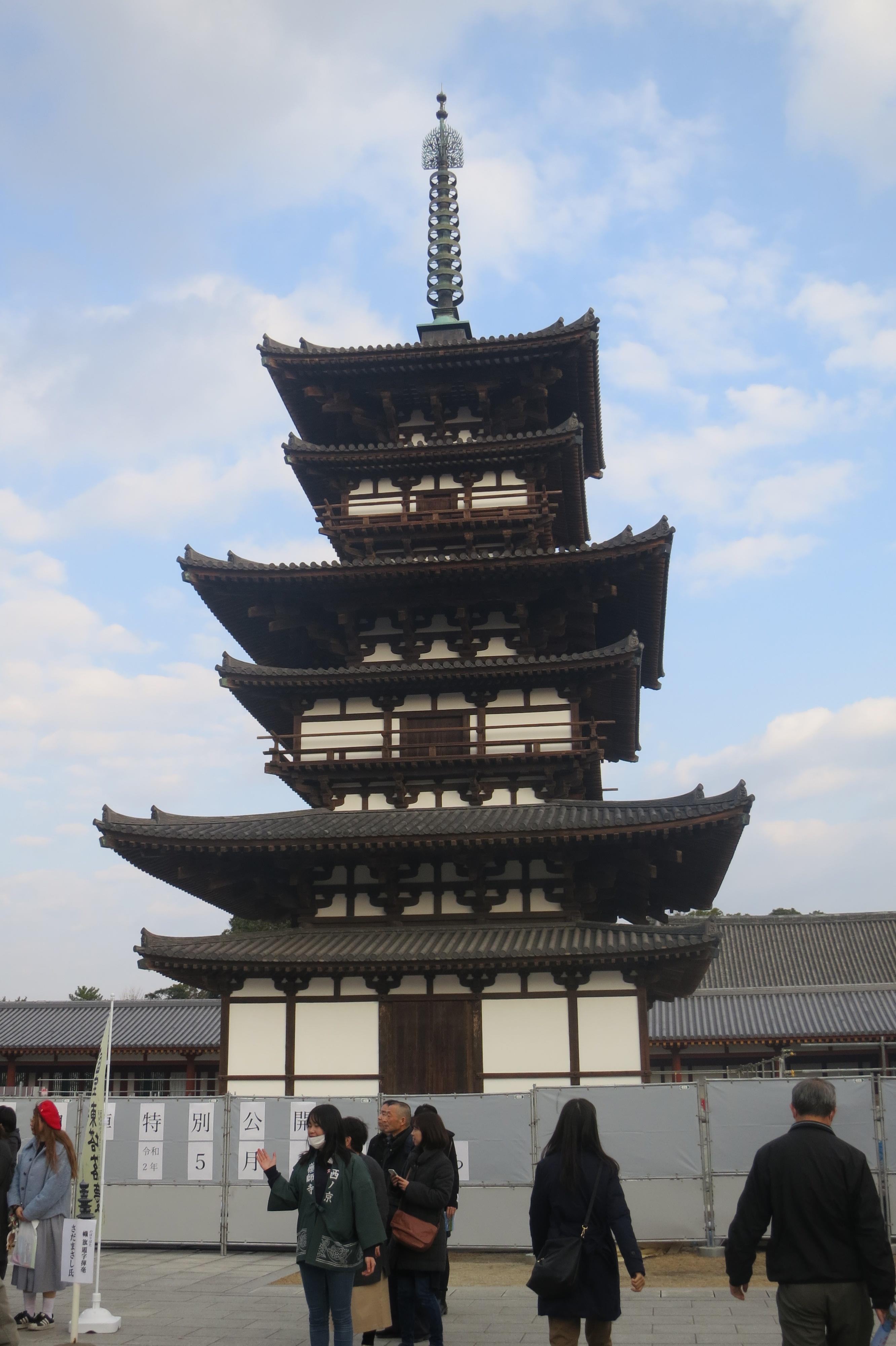 200121 薬師寺 東塔