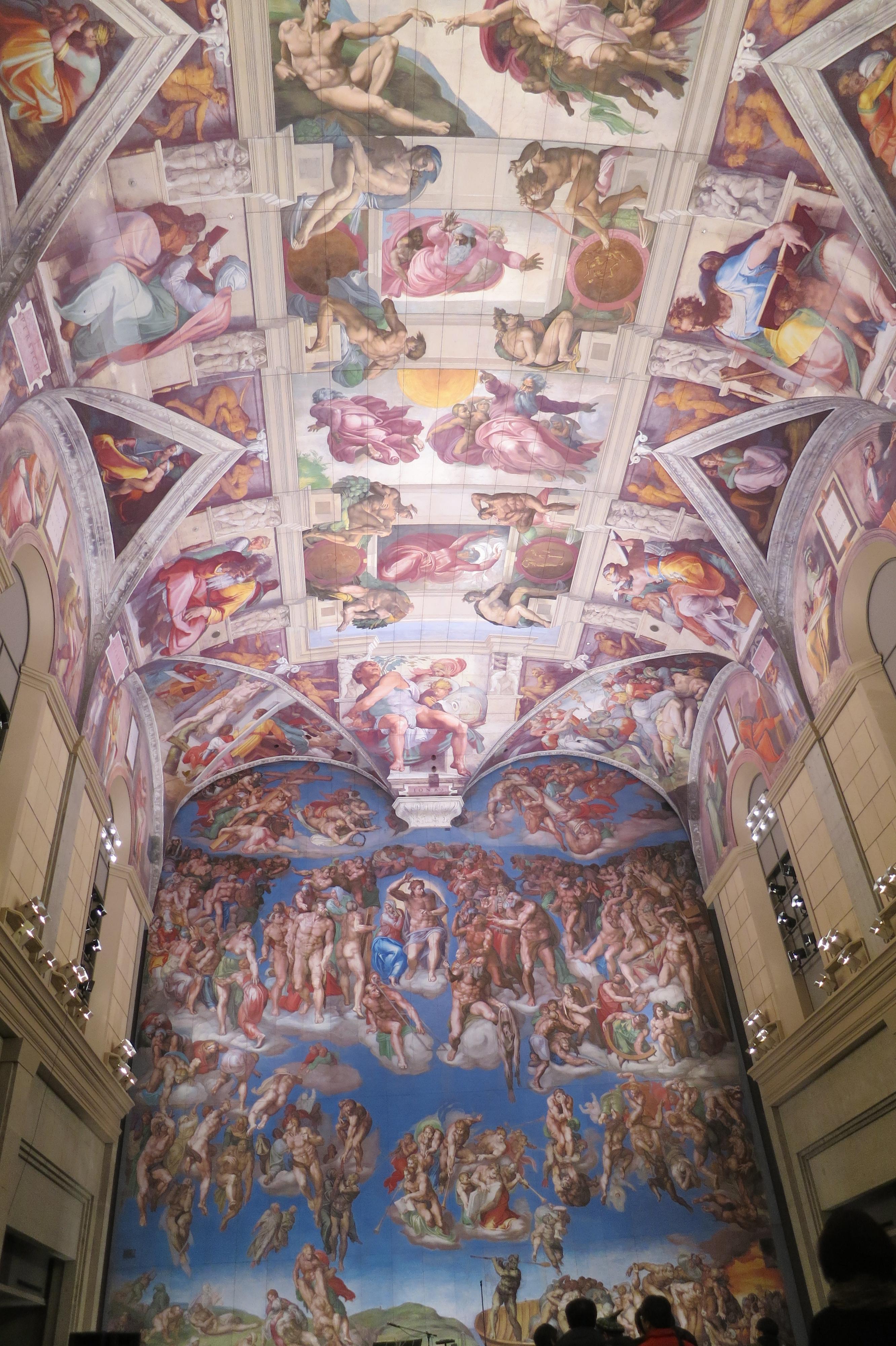 200221 システィーナ礼拝堂