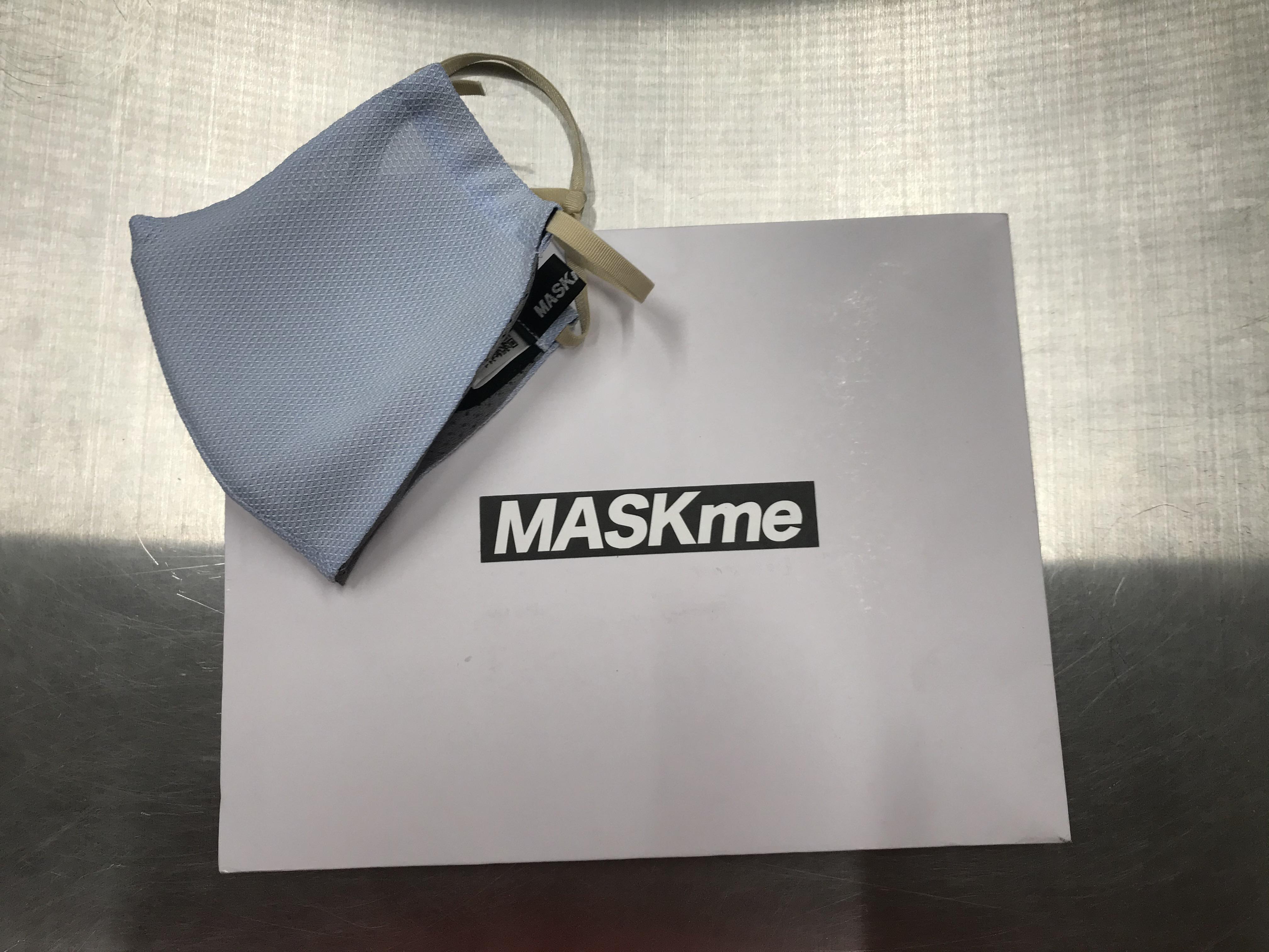 200902 夏用マスク 「MASK me」