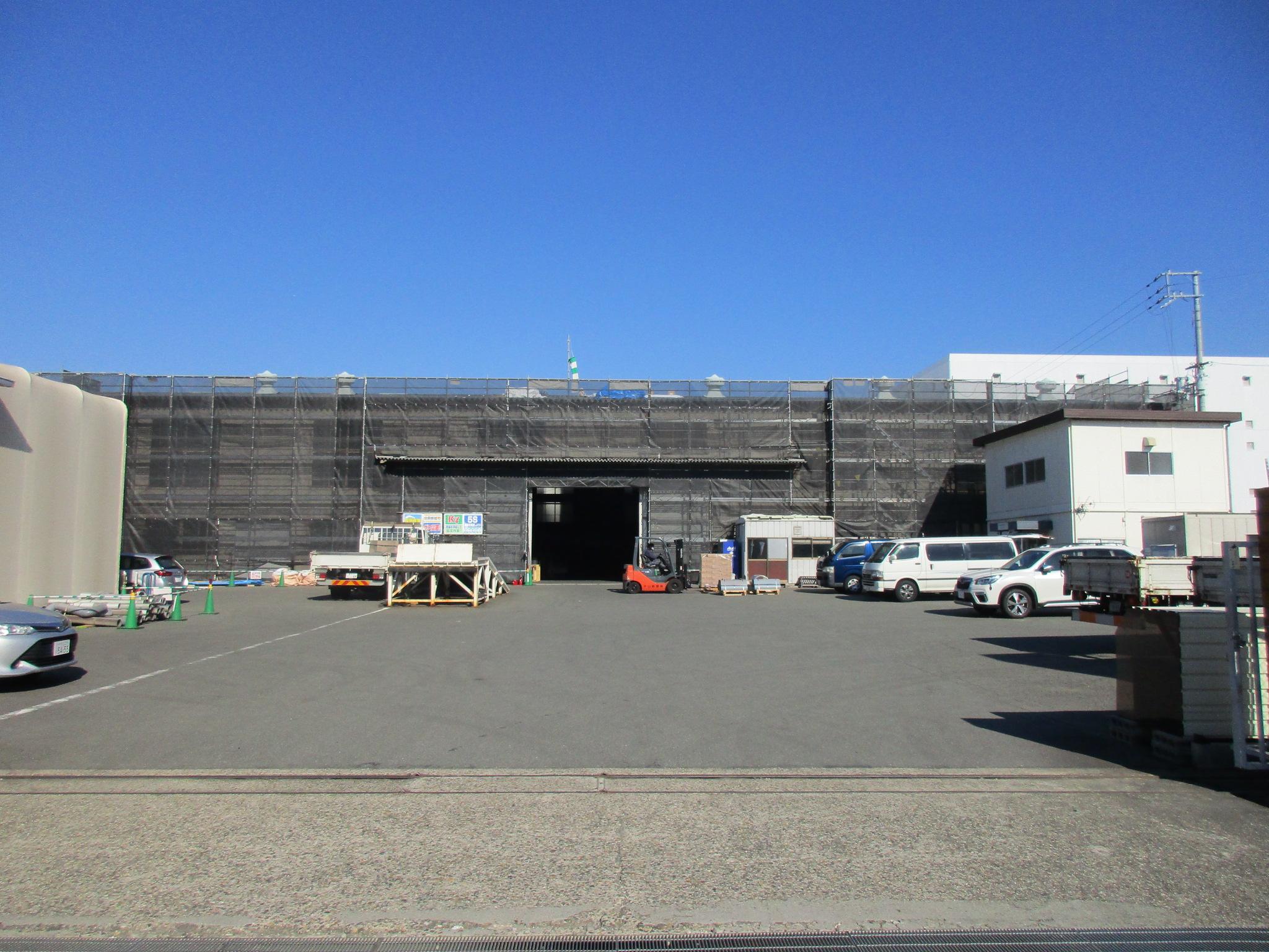 210126 倉庫屋根・外壁改修工事