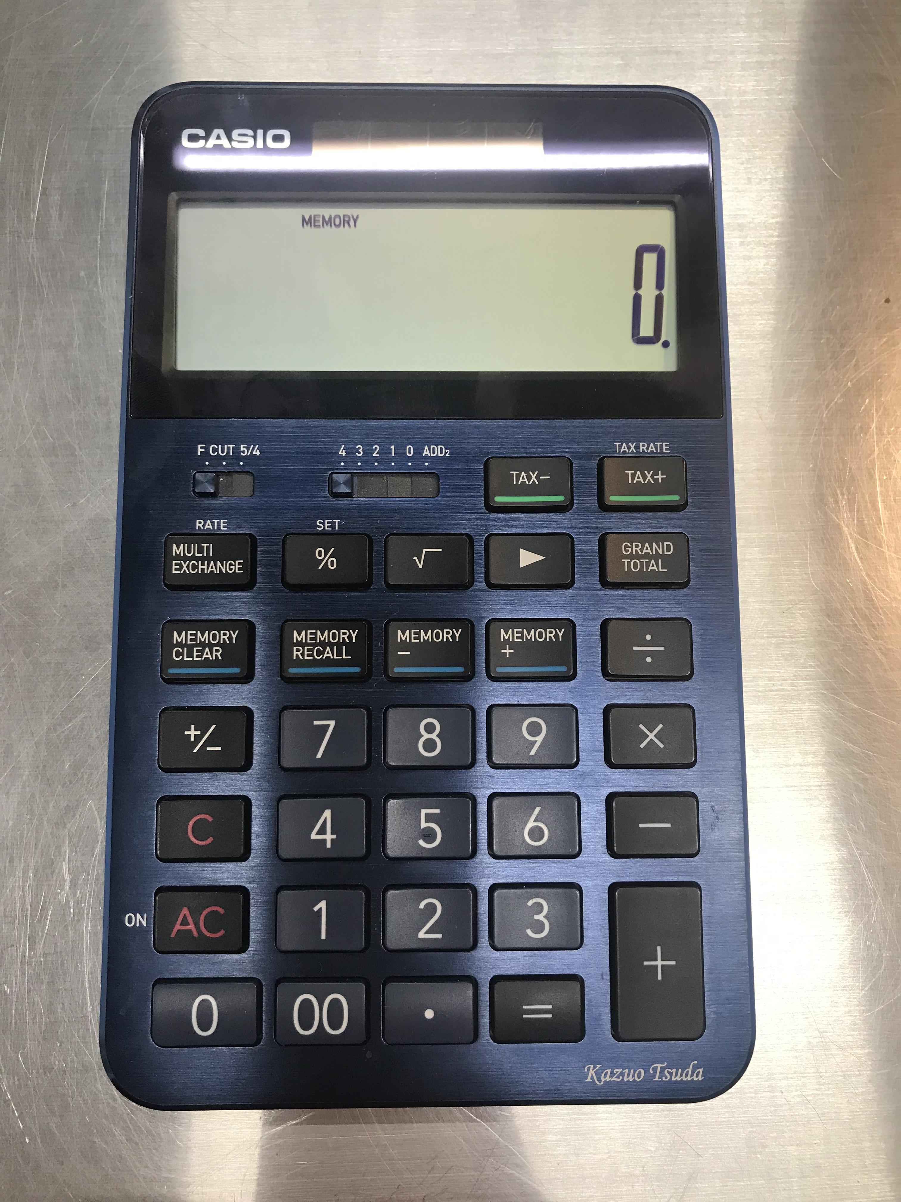 210205 CASIO電卓 S-100