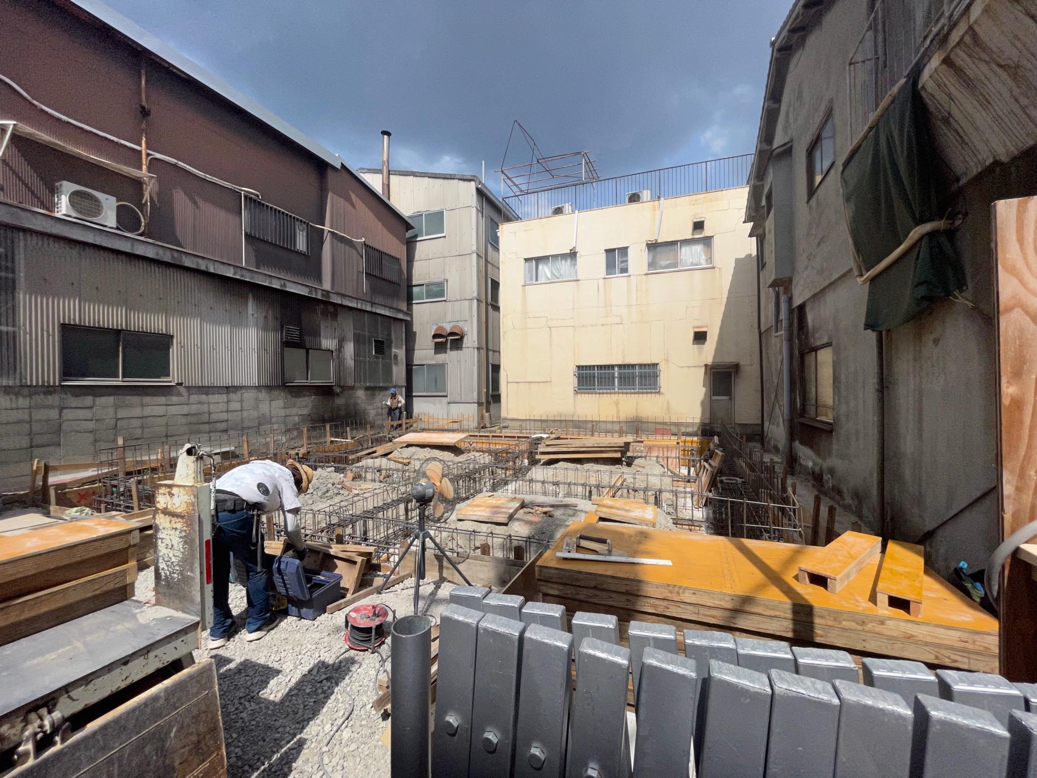210803 東大阪町工場 配筋検査
